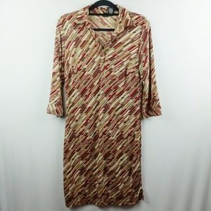 Mossimo Supply Co Vintage Style Long Sleeve Dress
